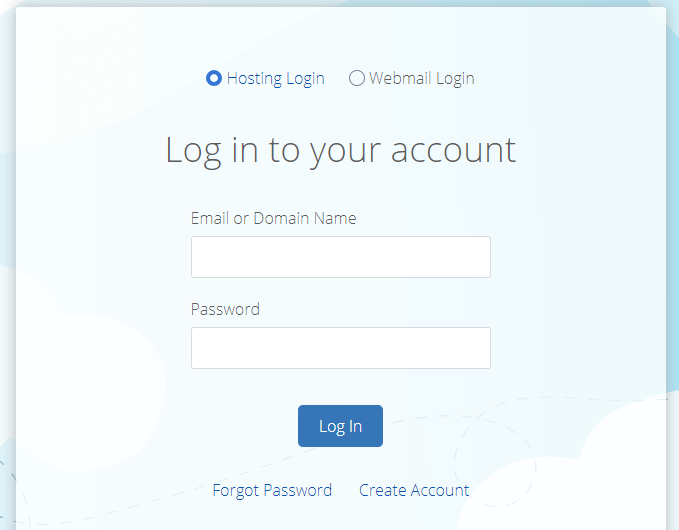 bluehost login