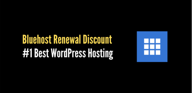 bluehost renewal discount 2021