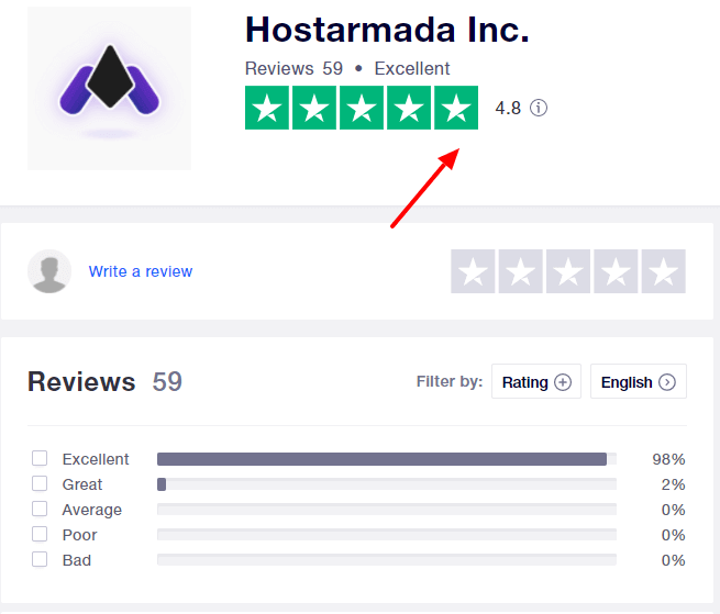 hostarmada reviews