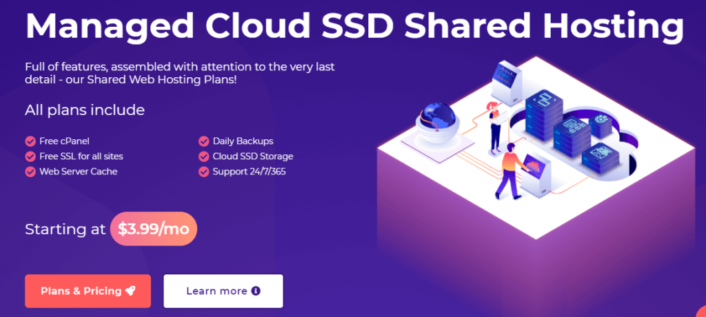 hostarmada ssd cloud hosting
