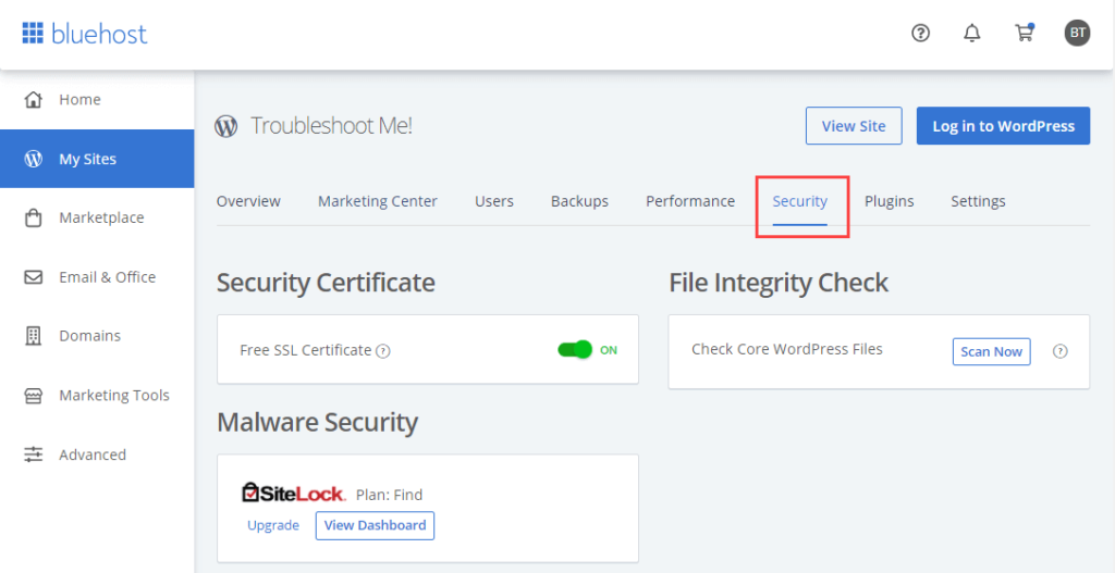 how to install ssl certificate on bluehost